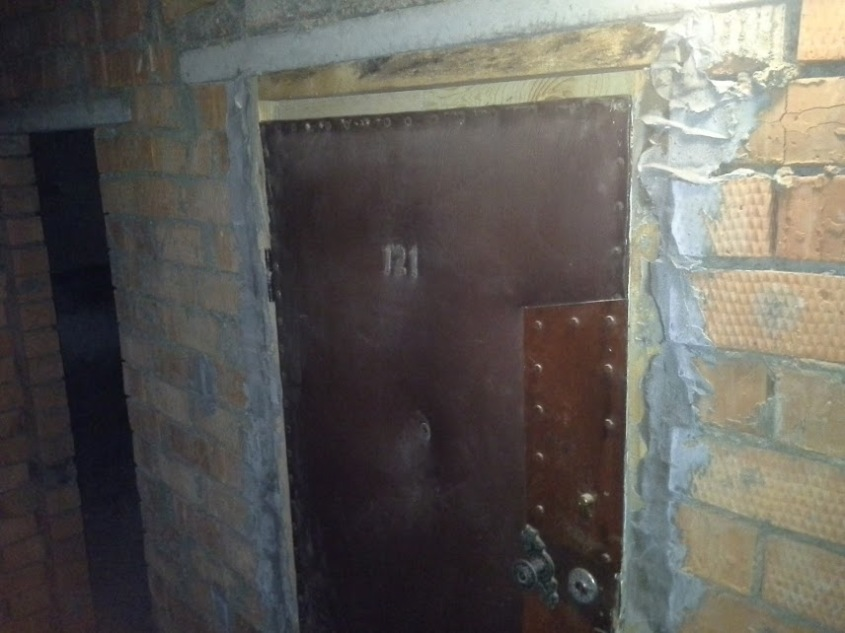 двері зверху