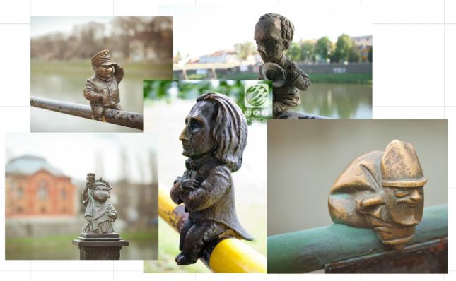 міні-скулптури ужгорода