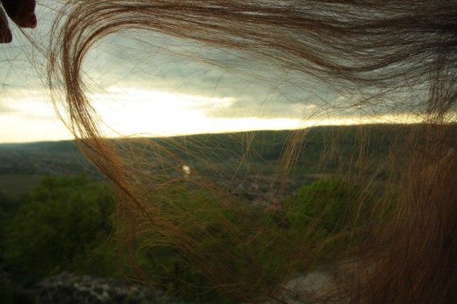 сонце в волоссі