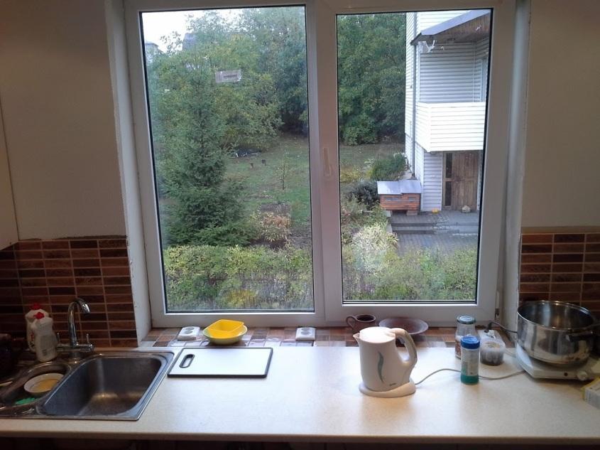 кухня і вікно